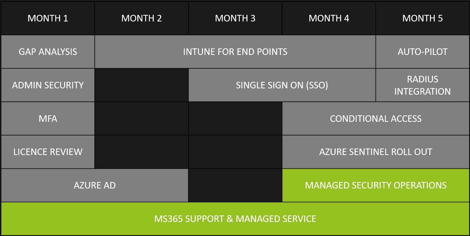 MS365 Custom Roadmap